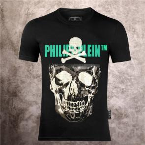 special prices on philipp plein round neck t-shirt double army skull